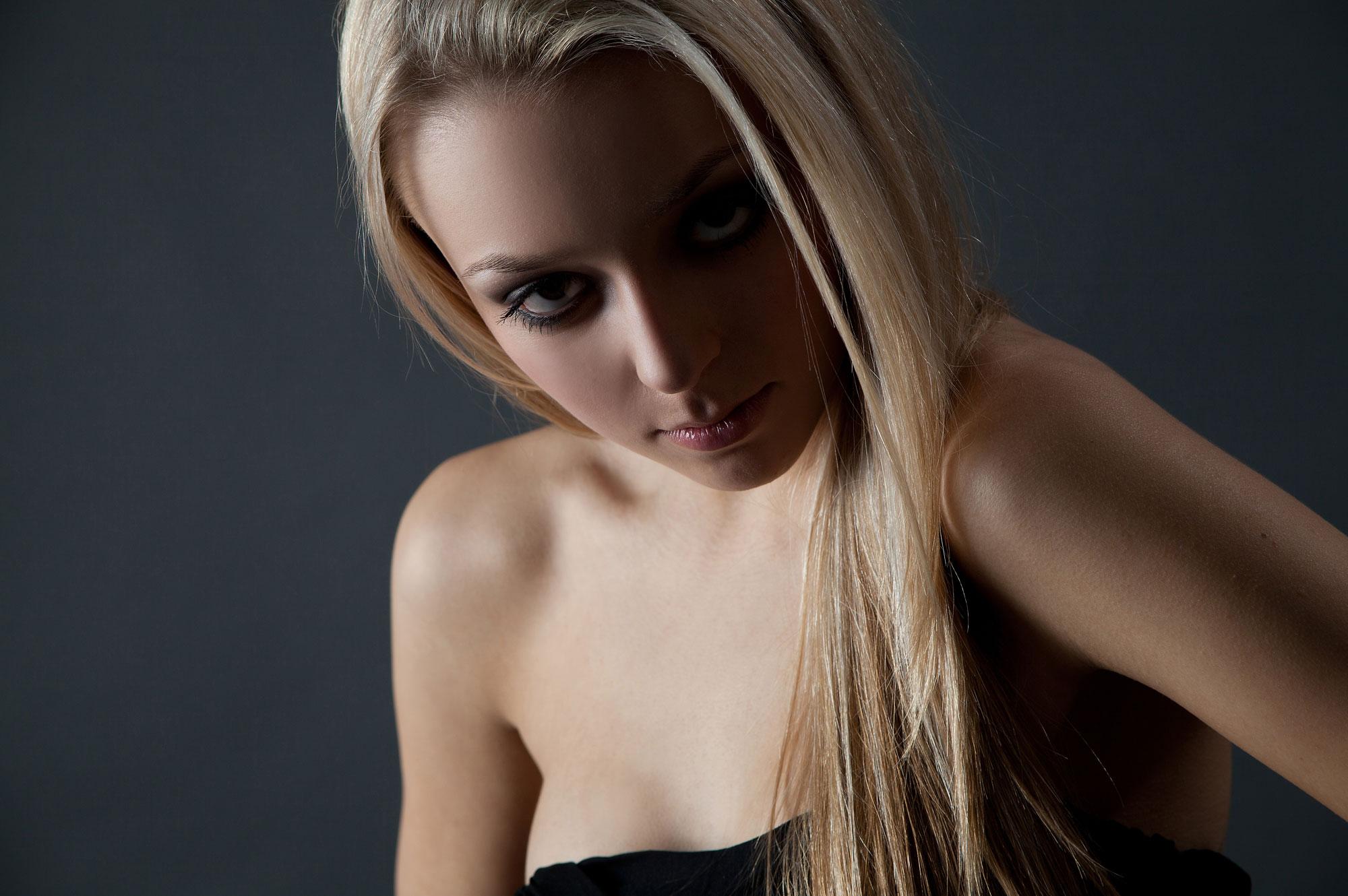 Modelaufnahme im Studio