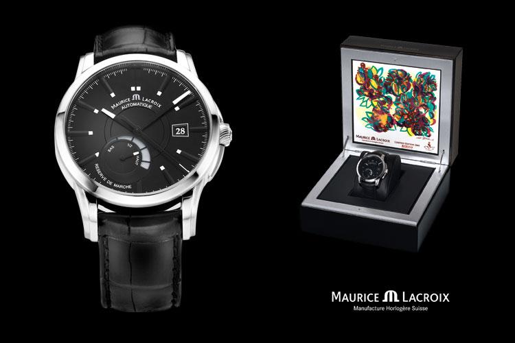 Uhrenaufnahme Maurice Lacroix
